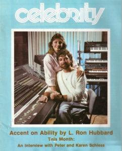 Karen and Peter Schless, Celebrity Magazine
