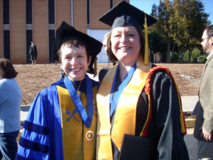 Dr. Liza Davis and Karen Schless Pressley
